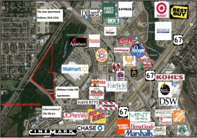 600 & 700 N. Cedar Hill Road, Cedar Hill, Texas 75104, ,Land,For Sale,N. Cedar Hill Road,1169